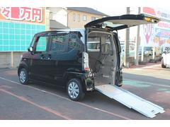 N BOX+車イス仕様スローパー リアシート付 電動ウインチ 福祉車両