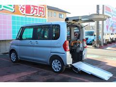 タントX SA スローパー リアシート付 電動ウインチ 福祉車輌