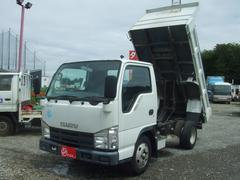 エルフトラック強化フルフラットローダンプ
