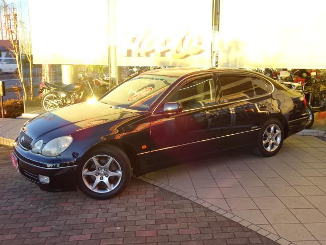 トヨタ S300ベルテックスエディション 黒内装 キーレス 買取車