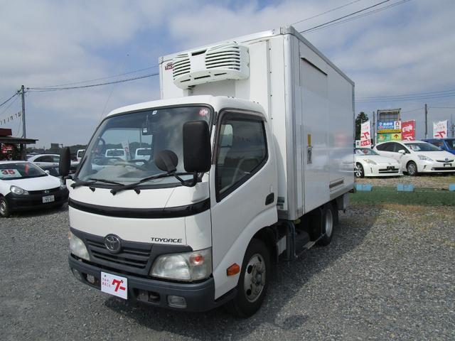 トヨタ トヨエース ベースグレード 冷蔵冷凍車-30℃設定 サイドドア付き スタンバイ バックモニター付き
