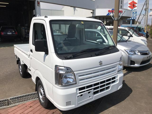 スズキ KCエアコン・パワステ ホワイト オートマ  4WD