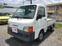 サンバートラックTB 4WD エアコン エアバッグ 5速マニュアル車