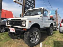 ジムニー4WD ターボ 5MT レカロシート リフトアップ