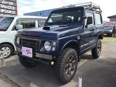 ジムニーワイルドウインド リフトアップ 4WD 5MT 社外アルミ