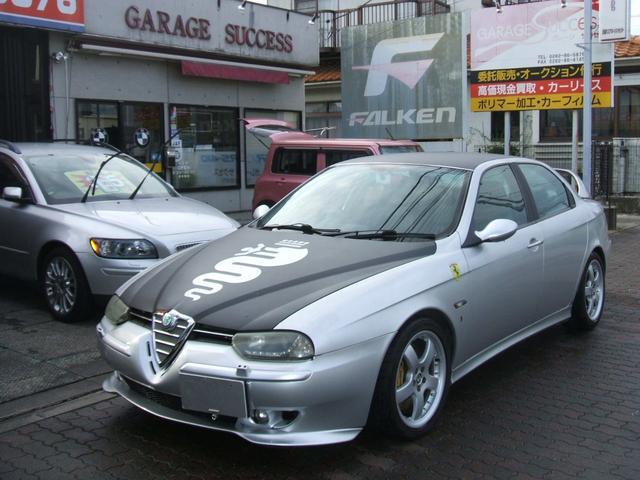 アルファ156(アルファロメオ) 2.5 V6 24V Qシステム 中古車画像