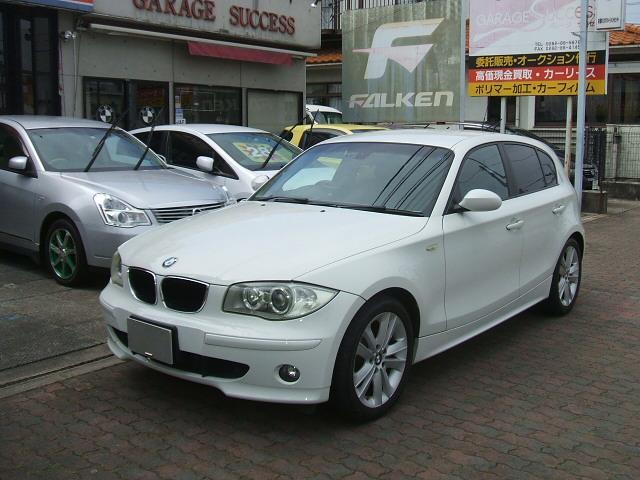 BMW 118i 17インチアルミ HIDライト メモリーナビ地デジ