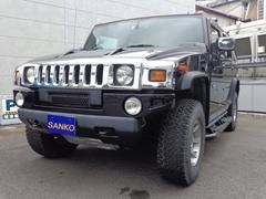 ハマーH2タイプG ディーラー車 左ハンドル 4WD ナビ サンルーフ 盗難防止システム