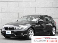 BMW118i スポーツ メーカー保証継承 純正ナビ バックカメラ