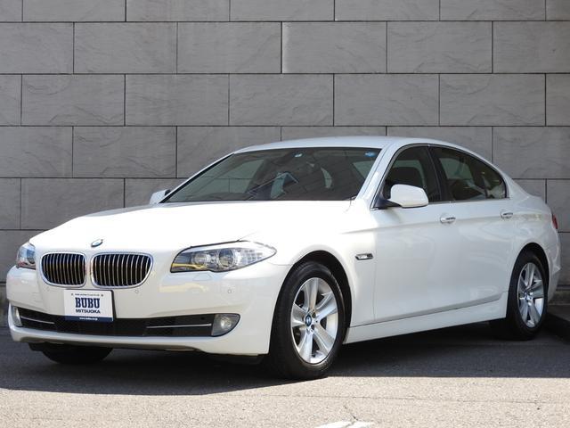 BMW 528i 純正HDDナビ地デジ 純正17AW レザーシート