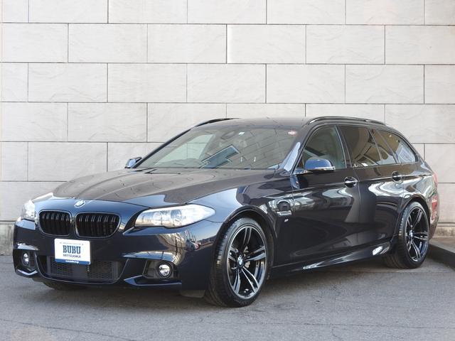BMW 523dツーリング Mスポーツ M3用19インチAW 正規ディーラー車 純正HDDナビ地デジ BrexLED キセノンヘッドライト CPM LowerReinforcement装着 M5タイプダブルフィンブラックグリル M3用純正19インチAW