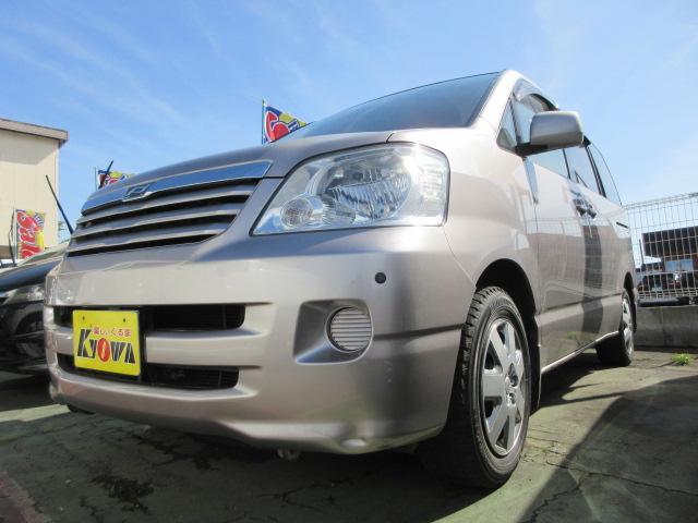 トヨタ ノア X ワンオーナー CD MD ETC 電動格納ミラー ETC 3ヶ月保証付
