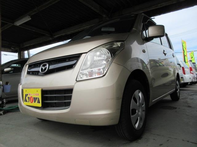 マツダ AZワゴン XG CD 電動格納ミラー ワンオーナー 3ヶ月保証付