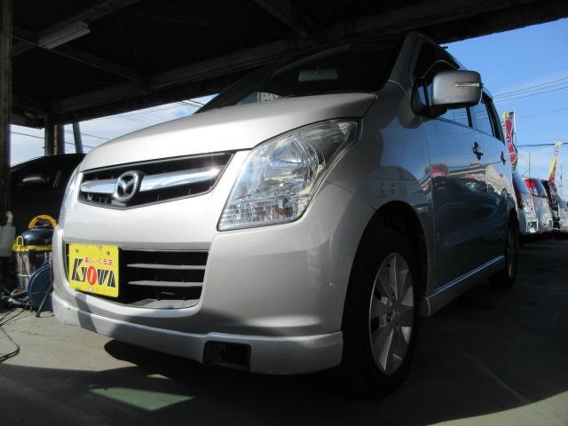 マツダ AZワゴン XSスペシャル CD キーレス スマートキー 電動格納ミラー ETC アルミ プッシュスタート ウィンカーミラー 3ヶ月保証付