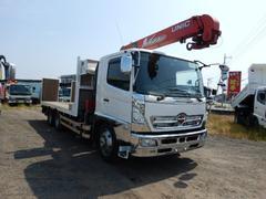 レンジャー増トン3軸3段クレーン付セフティーローダー