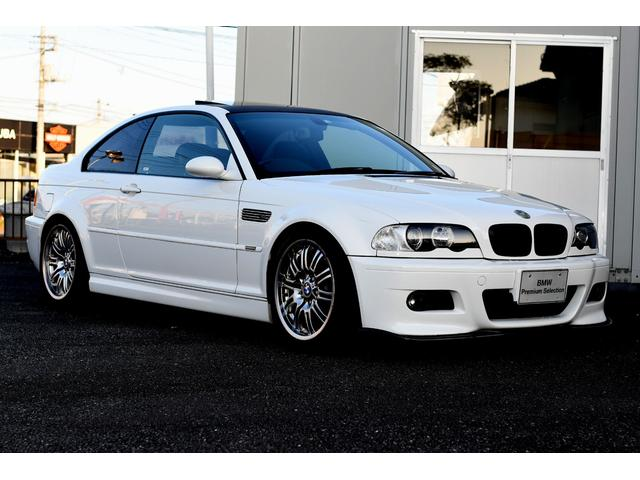 BMW M3クーペ 右ハンドル 6速MT アルピンホワイトIII
