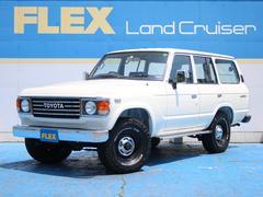 ランドクルーザー60GX NEWペイントホワイト 輸出用15インチ BFG