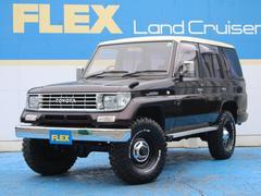 ランドクルーザープラドSXワイド 2UP 輸出用15 BFG33 メッキバンパー