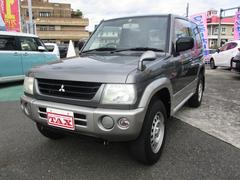 パジェロミニXR ユザー買取車 4WD