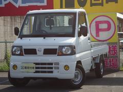 クリッパートラックDX 5速MT 4WD エアコン パワステ 社外CDMD