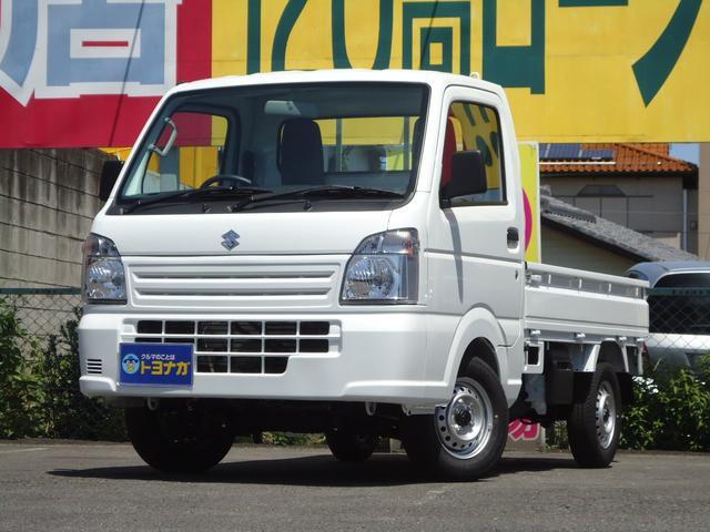 スズキ KCエアコン・パワステ 4WD 5速マニュアル 届出済未使用