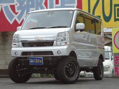 エブリイワゴンPZターボスペシャル 4WD 4インチリフトアップ マフラー