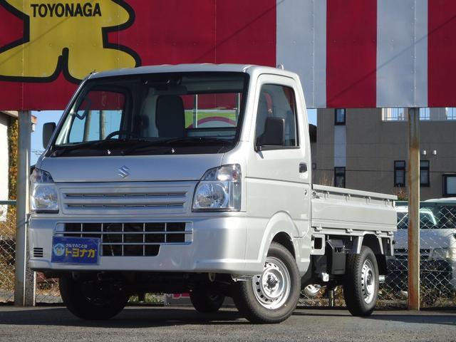 スズキ KCエアコン・パワステ 4WD 5速MT セーフティサポート