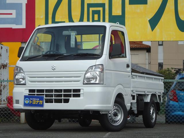 スズキ キャリイトラック KC エアコン パワステ 3速オートマ Wエアバッグ ABS