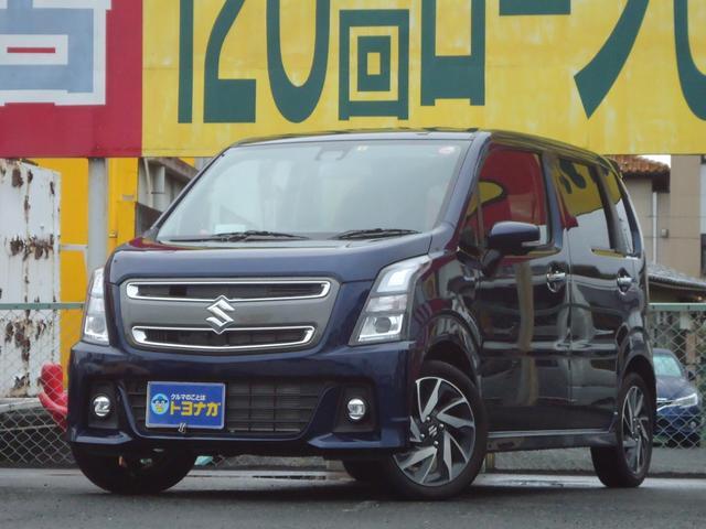 スズキ ワゴンRスティングレー ハイブリッドX リミテッド デュアルセンサーブレーキ 全方位カメラ LEDライト ヘッドアップディスプレイ シートヒーター セキュリティ