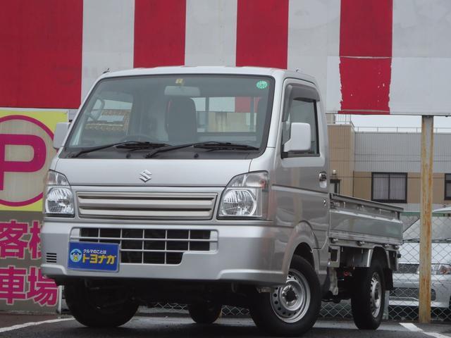 スズキ KCスペシャル 4WD フロアオートマ ワンオーナー AMFMラジオ キーレス エアコン パワステ パワーウィンドウ エアバッグ