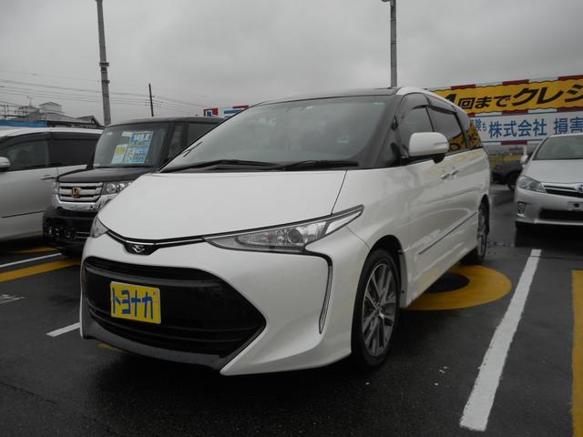 トヨタ アエラス プレミアム 新品BIGーX9インチ Rモニ Bカメ