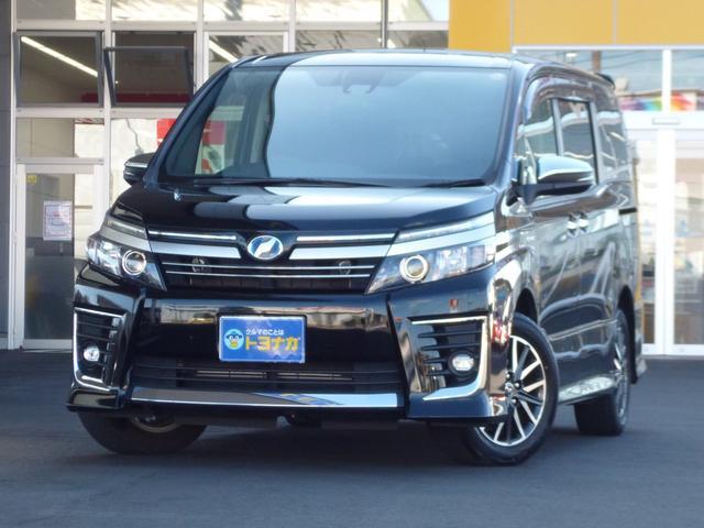 トヨタ ハイブリッドZS 煌II アルパイン製11インチナビ リアモニター 両側電動スライドドア スマートキー ETC LEDライト トヨタセーフティセンス