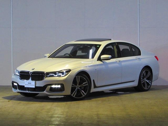 BMW 740i Mスポーツ 認定中古車 サンルーフ 純正ナビ