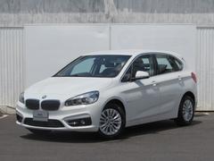 BMW218dアクティブツアラー 認定中古車 純正ナビ 禁煙車