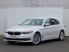 BMW523d ラグジュアリー 認定中古車 純正ナビ LEDライト
