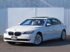 BMW750Li コンフォートPKG 認定中古車 純正ナビ ETC
