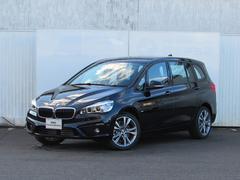 BMW220iグランツアラー スポーツ 認定中古車 純正ナビ