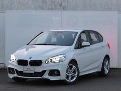 BMW218dアクティブツアラー Mスポーツ 認定中古車 純正ナビ