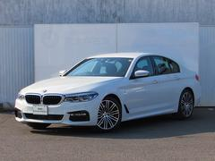 BMW523d Mスポーツ 認定中古車 純正ナビ LEDライト