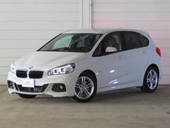 BMW218iアクティブツアラー Mスポーツ 認定中古車 純正ナビ