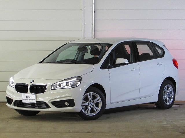 BMW 218iアクティブツアラー 登録済未使用車 認定中古車
