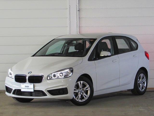 BMW 218iアクティブツアラー 認定中古車 社外Bカメ DTV