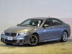 BMW523i Mスポーツ 認定中古車 純正ナビ ワンオーナー