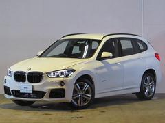 BMW X1sDrive 18i Mスポーツ 登録済未使用車 純正ナビ