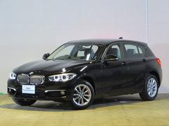 BMW118i スタイル 登録済未使用車 純正ナビ ETC Bカメ
