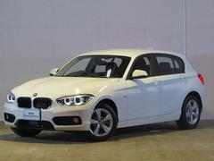 BMW118d スポーツ 登録済未使用車 純正ナビ ACC ETC