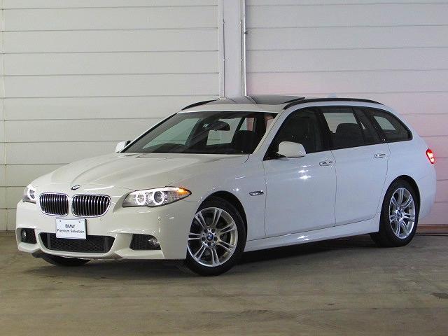 BMW 523iツーリング Mスポーツ 認定中古車 禁煙車 純正ナビ