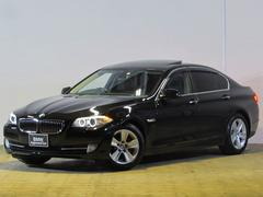 BMW528i認定中古車 純正ナビ サンルーフ レザー Bカメ