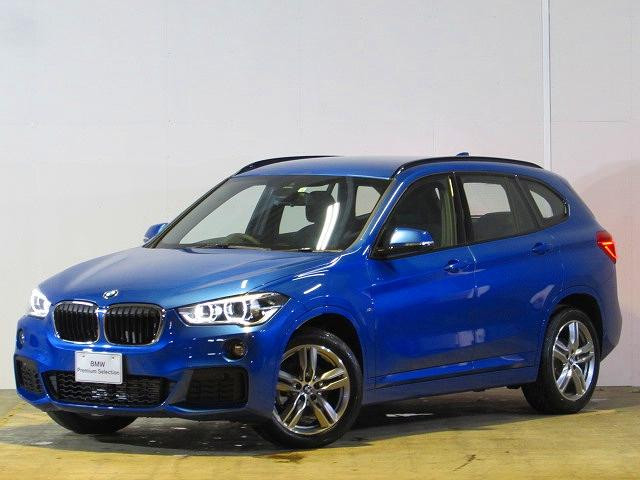 BMW xDrive 18d Mスポーツ 登録済未使用車 純正ナビ