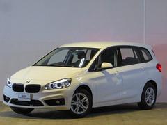 BMW218iグランツアラー 登録済未使用車 純正ナビ Bカメラ